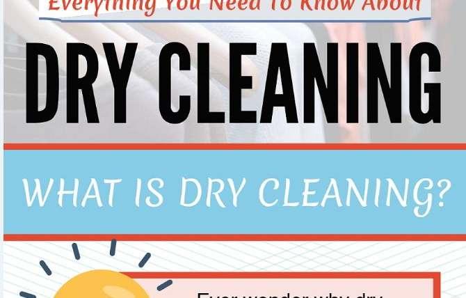 Everything You Need To Know About Dry Cleaning [Infographic]