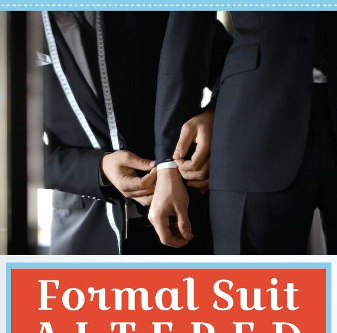 Your Guide To Getting A Formal Suit Altered [Infographic]