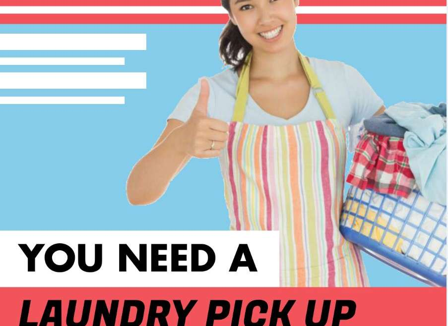 Reasons Why You Need A Laundry Pick Up Service [Infographic]